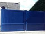 Portails Nantes : R�alisation rue des Fauvettes Le TEMPLE de BRETAGNE