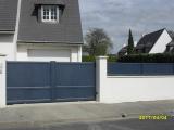 Portails Nantes : R�alisation rue de la Cadrani�re, CARQUEFOU