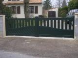 Portails Nantes : R�alisation � HAUTE GOULAINE