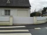 Portails Nantes : R�alisation rue du Point du Jour � THOUARE SUR LOIRE