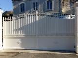 Portails Nantes : R�alisation � Saint Eti�nne de Montluc