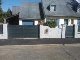 Portails Nantes : R�alisation rue des Hameaux � THOUARE SUR LOIRE