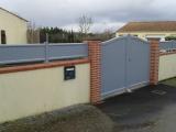 Portails Nantes : R�alisation rue du Petit Pesle � BRAINS