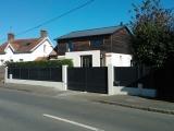 Portails Nantes : R�alisation rue de Carquefou � THOUARE SUR LOIRE