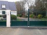 Portails Nantes : R�alisation route Chesnais � GRANDCHAMPS DES FONTAINES