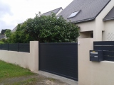 Portails Nantes : R�alisation rue de la Retonde � ORVAULT