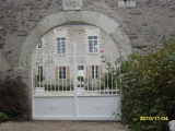 Portails Nantes : 2 vantaux alu � CHAPELLE BASSE MER