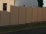 Clotures Nantes : Cloture béton imitation bois