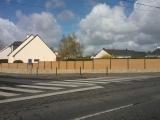 Clotures Nantes : Réalisation rue du Château d'eau à la Chapelle sur Erdre